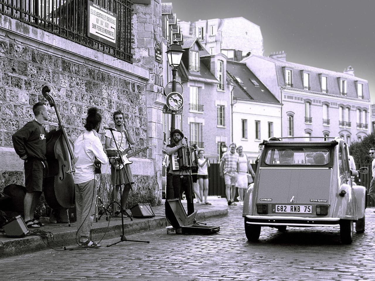 Parcours musical à Montmartre