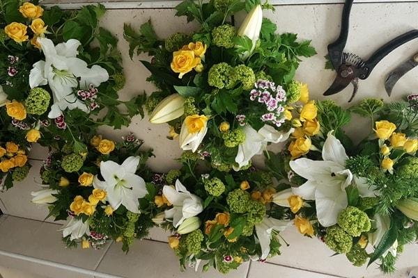 initiation à l'art floral après visite du plus grand marché du monde à Rungis