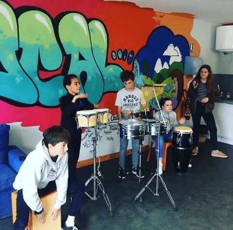Stage d'initiation, de perfectionnement Batterie et Percussions