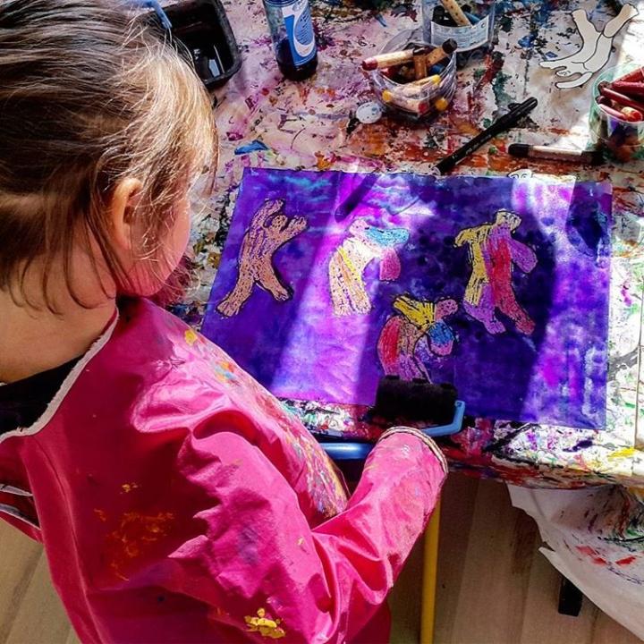 Atelier artistique enfants