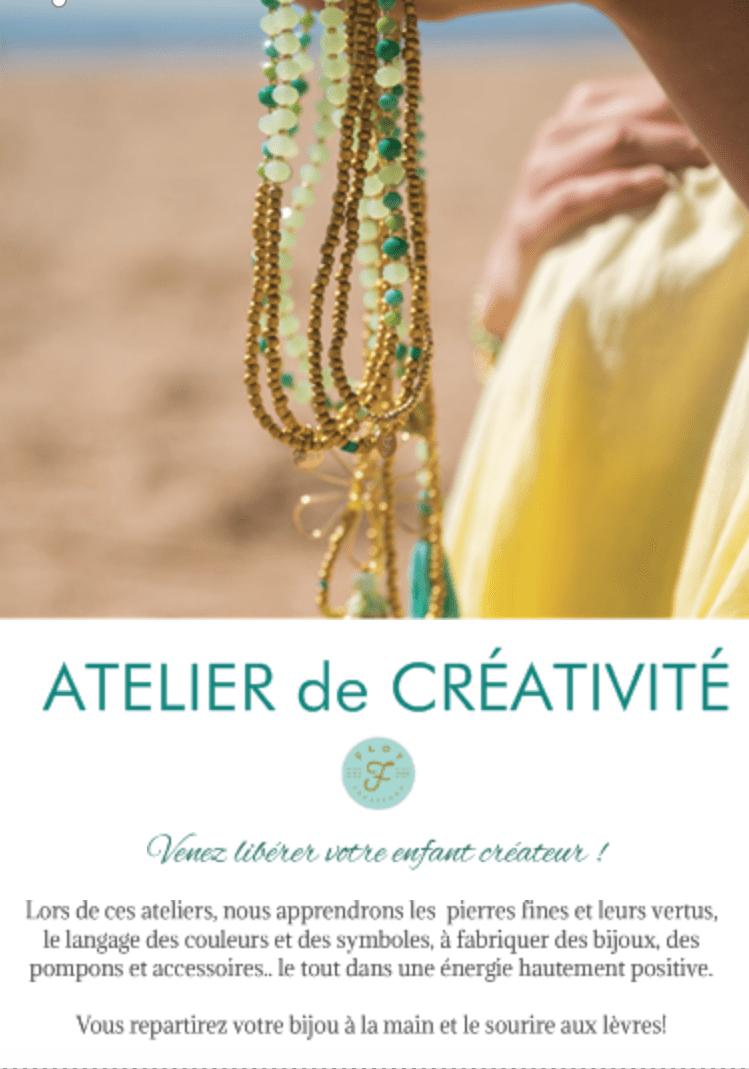 Atelier de créativité