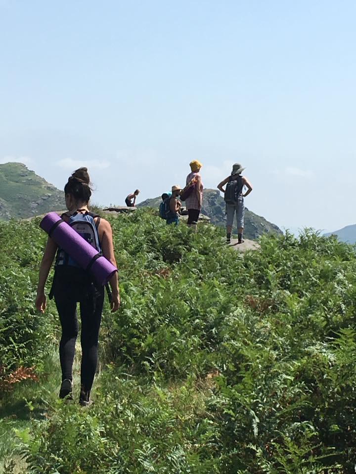 YOGA et RANDO en montagne basque