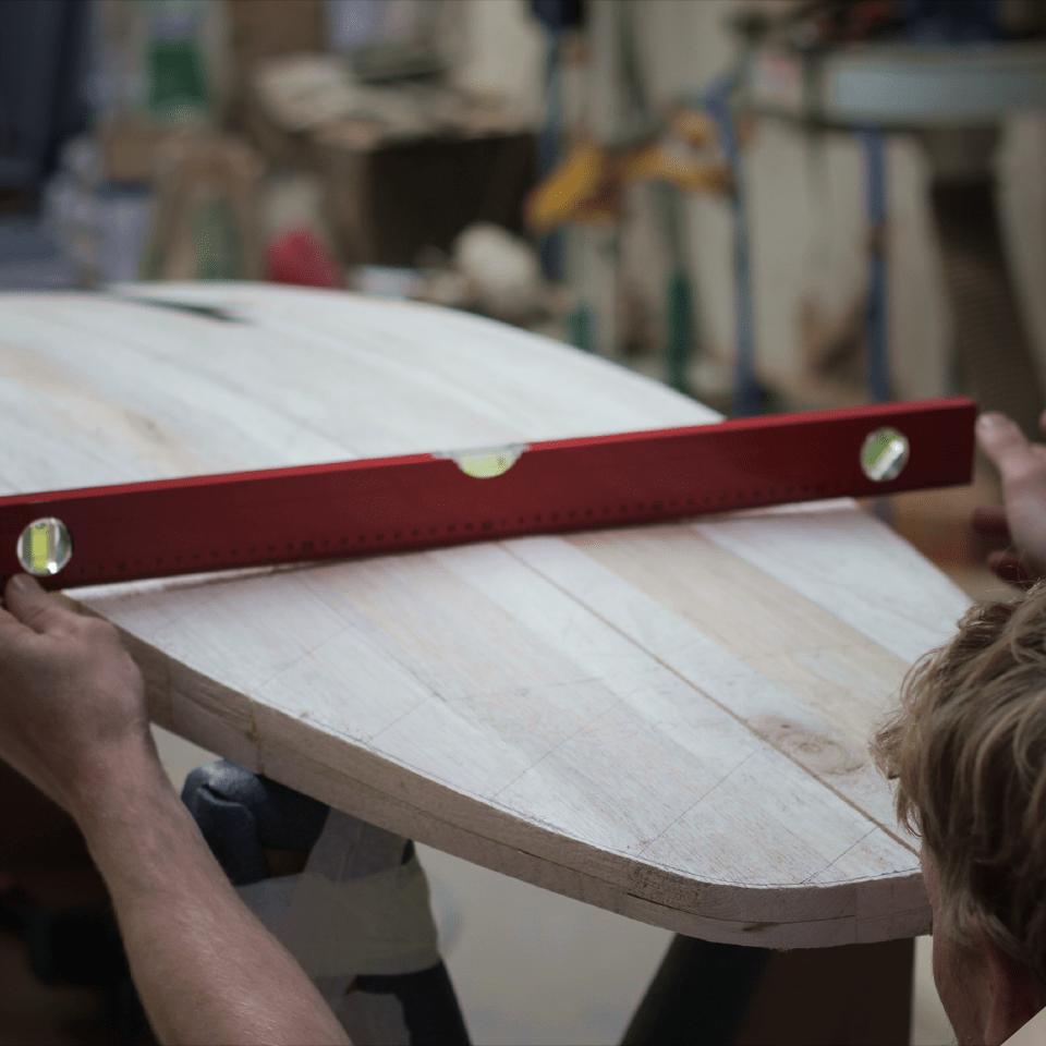 Shapez votre propre planche de surf (fish)